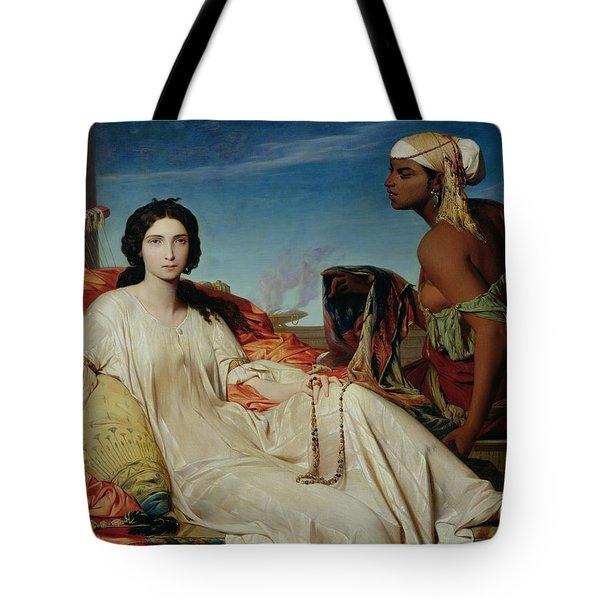 Odalisque Tote Bag by Francois Leon Benouville
