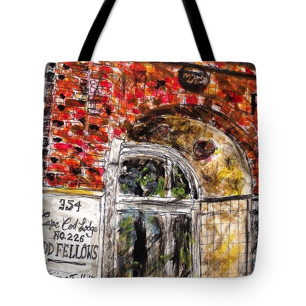 Odd Fellows, Cape Cod Tote Bag