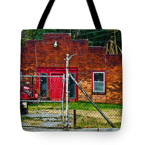 Odd Little Place Tote Bag by Christopher Holmes