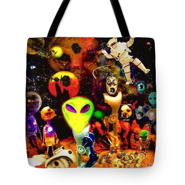 Odd Universe  Tote Bag