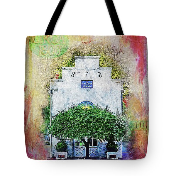Oddfellows Library Building Tote Bag