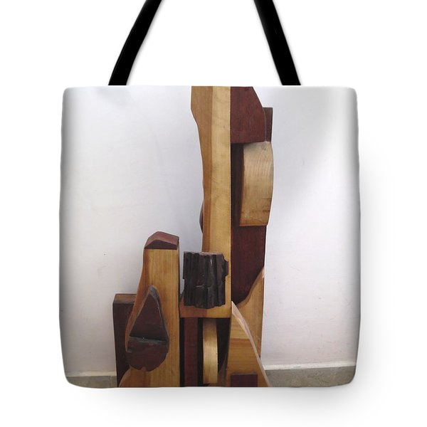 Tote Bag featuring the sculpture Ode To A Guitar by Esther Newman-Cohen