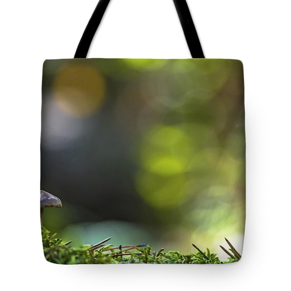 Ode To A Mushroom Tote Bag by Mary Amerman