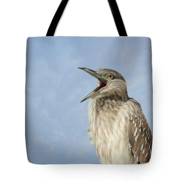 Ode To A New Day Tote Bag by Fraida Gutovich