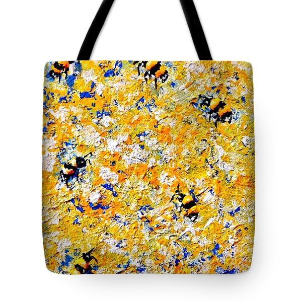 Ode To Bees.. Tote Bag