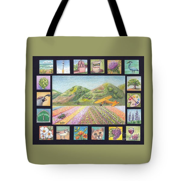 Ode To Lompoc Tote Bag