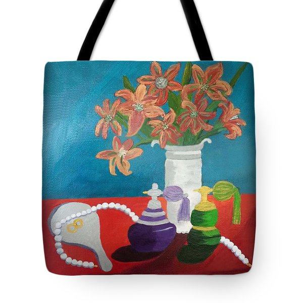 Ode To Nostalgic Feminine Beauty Tote Bag