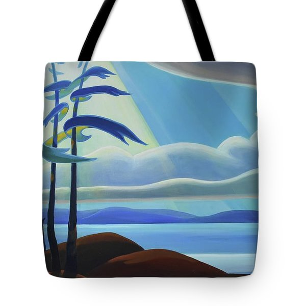 Ode To The North II - Center Panel Tote Bag