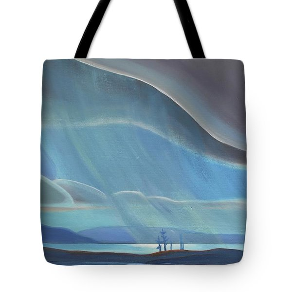 Ode To The North II - Rh Panel Tote Bag