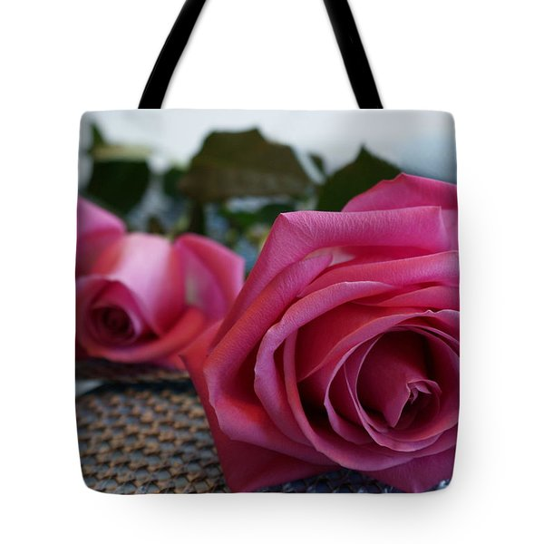 Ode To The Rose Tote Bag by Joanne Smoley
