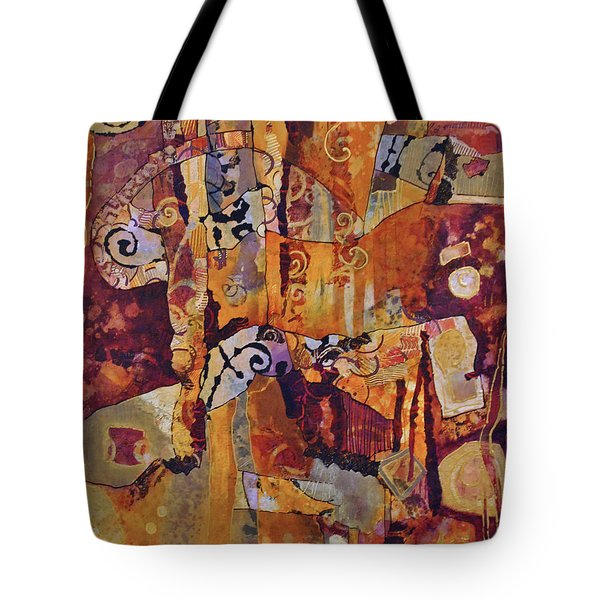 Ode To Warp And Weft Tote Bag