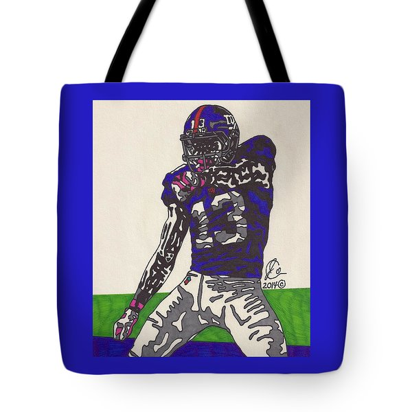 Odell Beckham Jr  Tote Bag by Jeremiah Colley