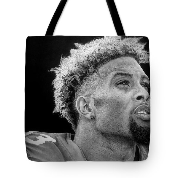 Odell Beckham Jr. Drawing Tote Bag