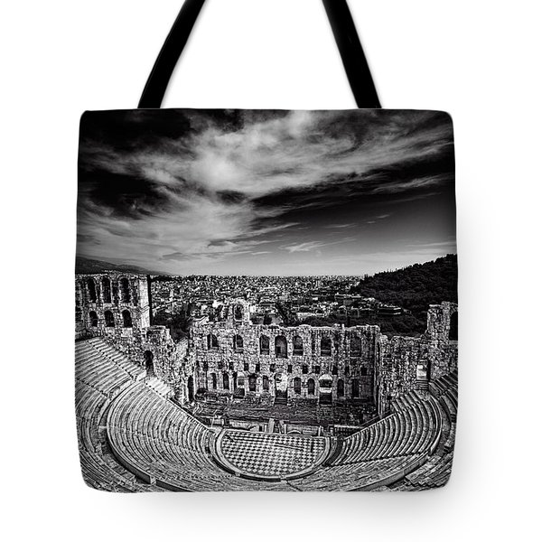 Odeon Of Herodes Atticus Tote Bag