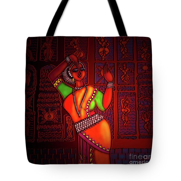 Odissi Dancer Tote Bag