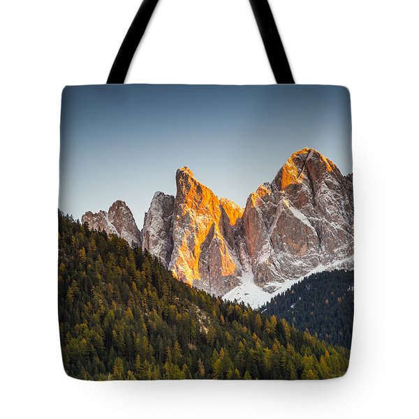 Odle Peaks Tote Bag