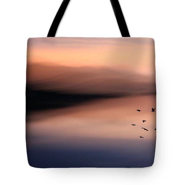 O'er Mountains Tote Bag
