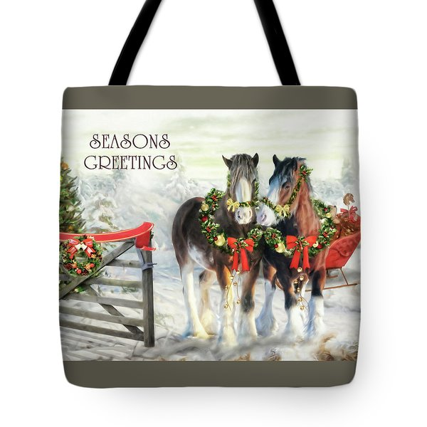 Of Christmas Past  Tote Bag