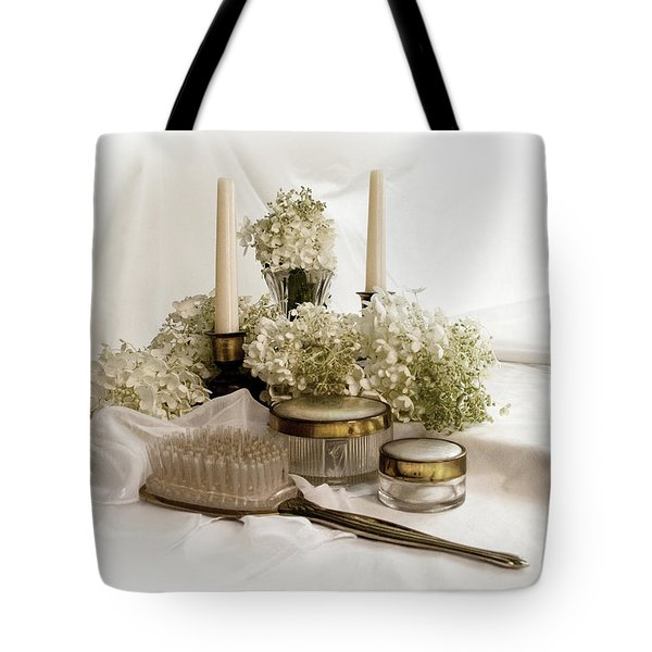 Of Days Past Tote Bag by Ann Lauwers