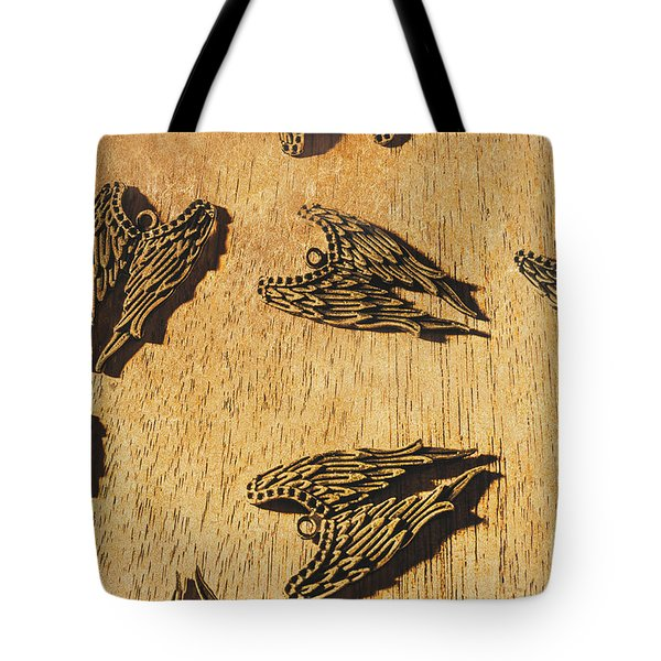 Of Devils And Angels Tote Bag