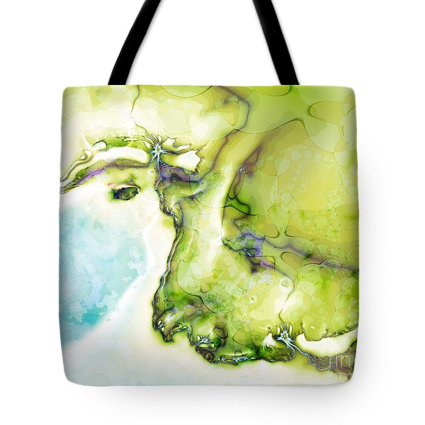 Of Earth And Water Tote Bag by Michelle H