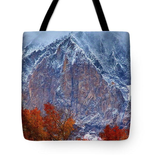 Of Fire And Ice Tote Bag
