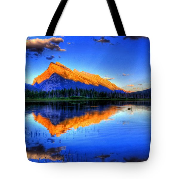Of Geese And Gods Tote Bag