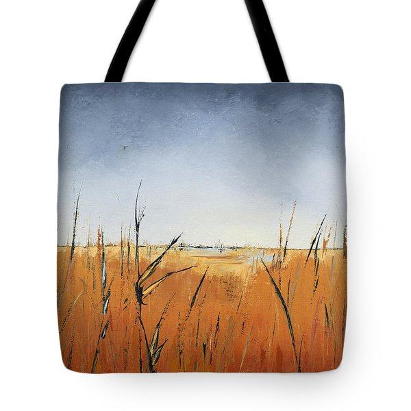 Of Grass And Seed Tote Bag by Carolyn Doe