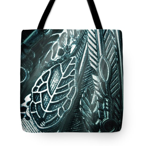 Of Leaves And Feathers Tote Bag