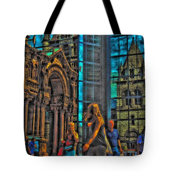 Of Light And Mirrors Tote Bag