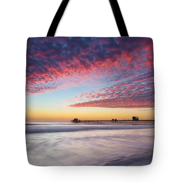 Of Milk Shakes And Cotton Candy Tote Bag by Peter Tellone