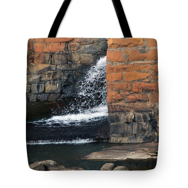 Of Texture And Flow Tote Bag