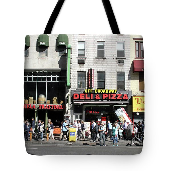 Off Broadway Tote Bag