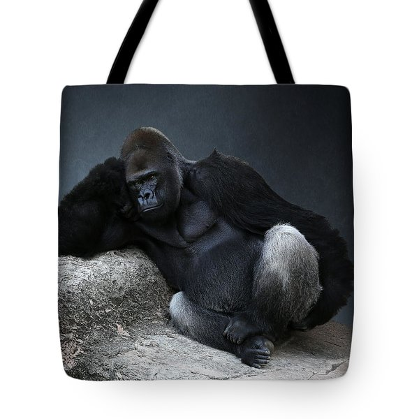 Off Duty Gorilla Tote Bag