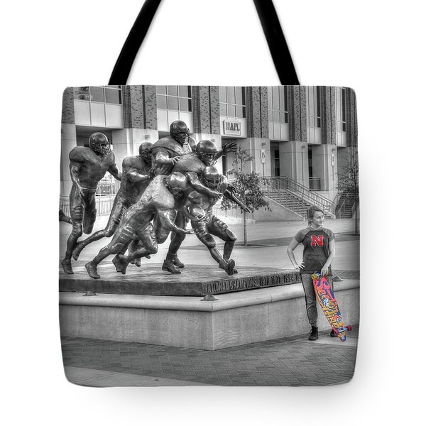 Off Field Distraction Tote Bag