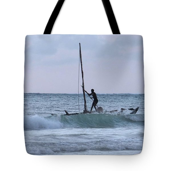 Off Fishing Tote Bag