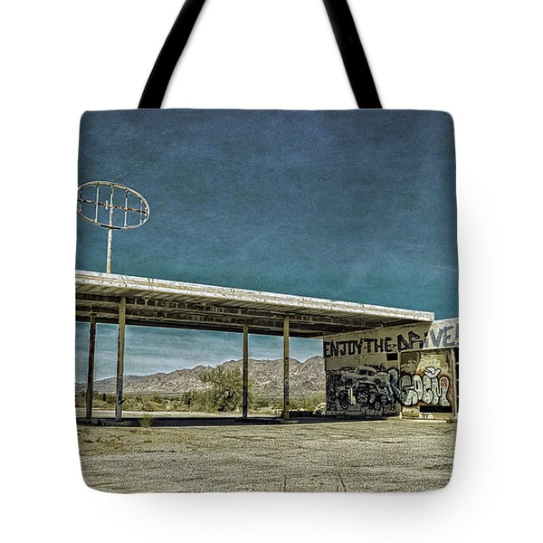 Off Highway 10 Tote Bag