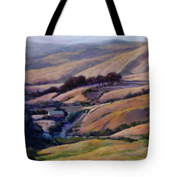 Off Jalama Road Tote Bag