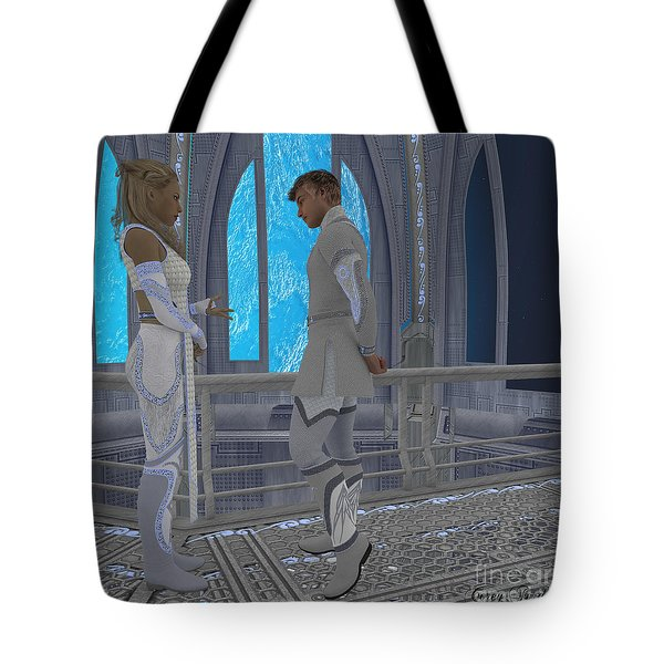 Off-planet Residence Tote Bag