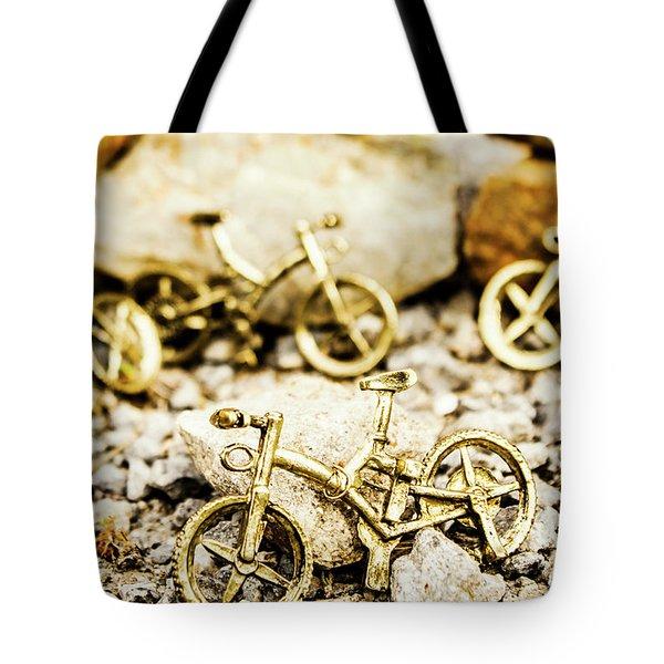 Off Road Bike Trinkets Tote Bag
