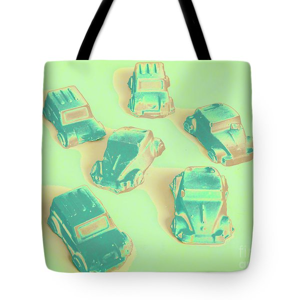 Off Road Retro Rally  Tote Bag