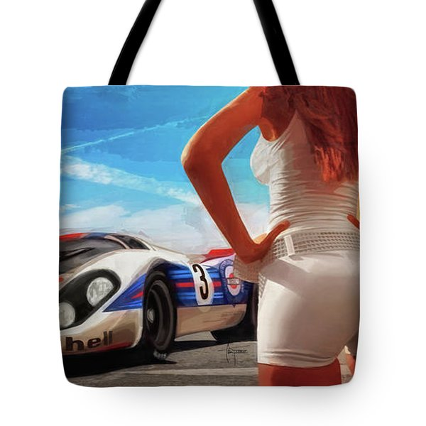 Off The Grid Tote Bag by Alan Greene