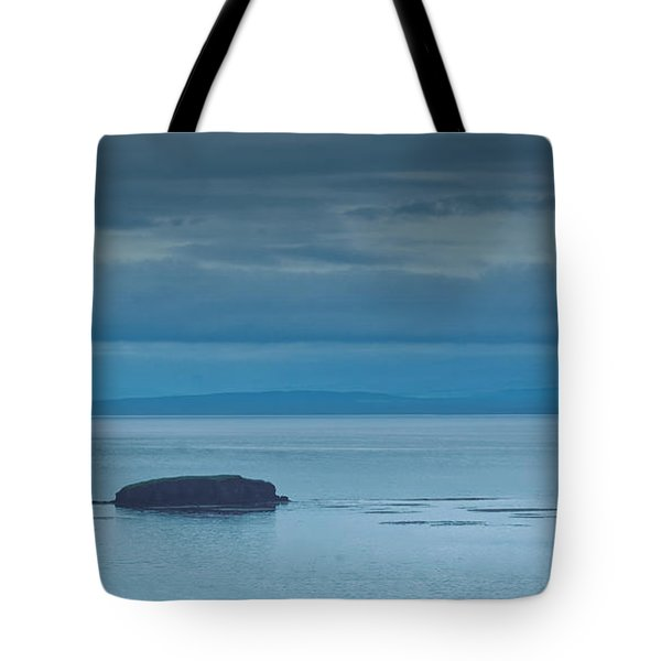 Tote Bag featuring the photograph Off The Iceland Coast by Joe Bonita