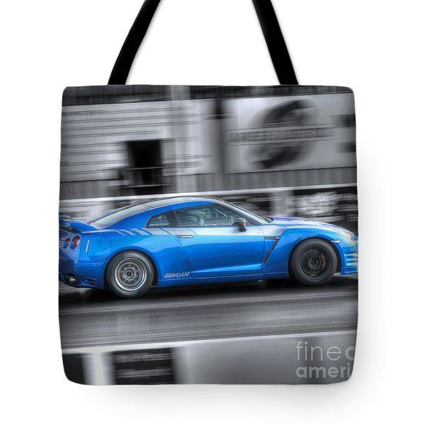 Off The Line Tote Bag