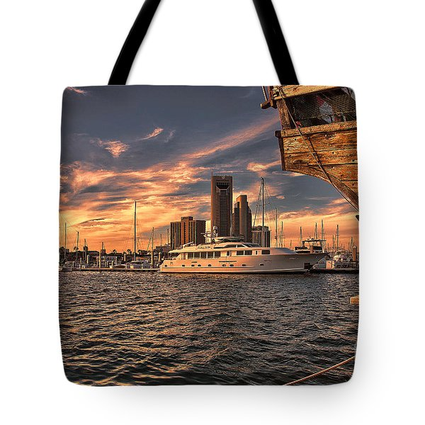 Off The Port Stern Tote Bag