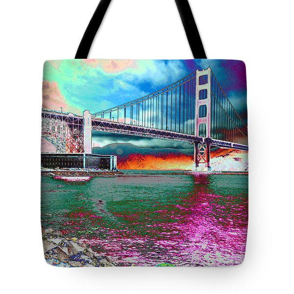 Off The Rocks Fishing Tote Bag