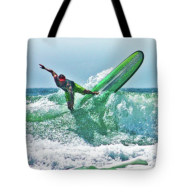 Off The Top Tote Bag