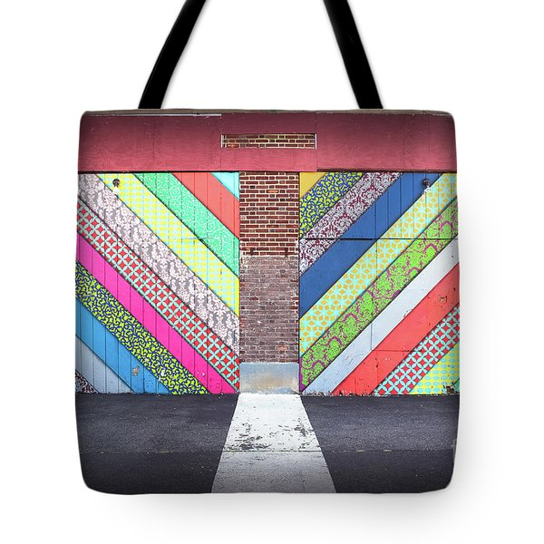 Tote Bag featuring the photograph Off The Wall - Double by Colleen Kammerer