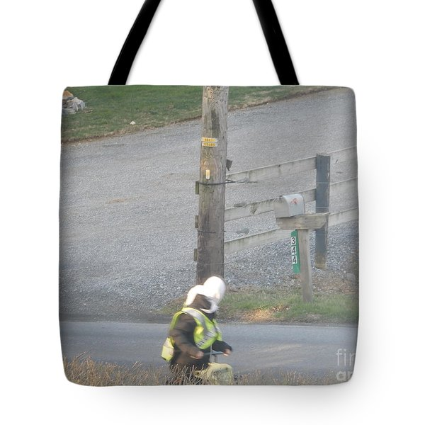 Off To School Tote Bag