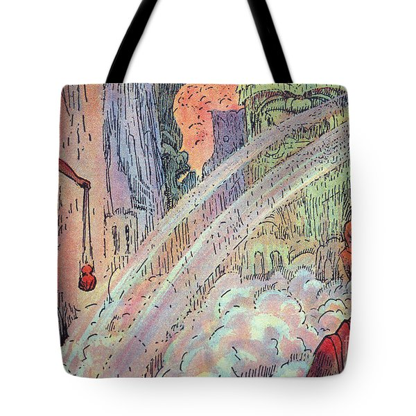 Offering To The Gods Tote Bag by Hawaiian Legacy Archive - Printscapes